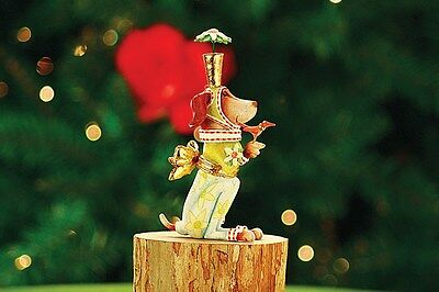 Patience Brewster Krinkles Pointsittier Christmas Ornament