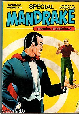 SPECIAL MANDRAKE n°22 ¤ MONDES MYSTERIEUX ¤ 1979 REMPARTS