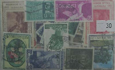 Italy 200 stamps, all different. (30)
