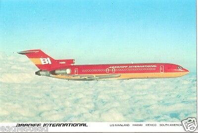 Airline Postcard - Braniff International - B727 - N401BN - Place (P3517)