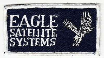 EAGLE SATELLITE SYSTEMS - Vintage BUSINESS PATCH
