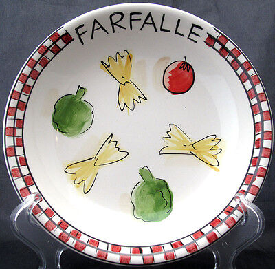 TABLETOPS UNLIMITED PASTA FOR FOUR BOWL FARFALLE