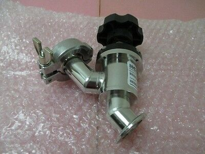 """Nor-Cal Products AIV-1002-NWB, 1"""" Manual Angle-In-Line Valve, NW-25 Flanges"""