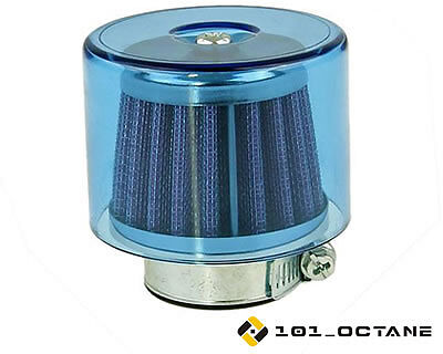 Derbi Senda 50cc 2006-  38mm Free Flow Air Filter Blue