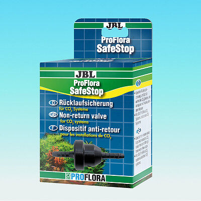 JBL ProFlora SafeStop prevents Water return CO2 plant/ph control unit protection