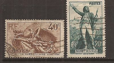 France Postage Stamps F/Used Condition (897)