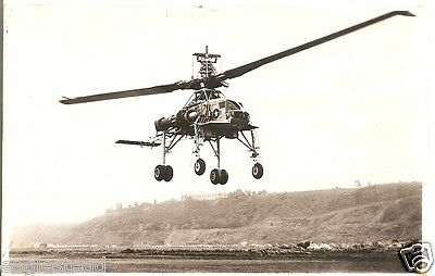 Helicopter Postcard - Hughes - XH-17 - Flying Crane (P2514)
