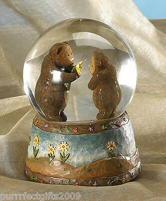 BOYDS #370435 FOR YOU WATERGLOBE 1st EDITION RETIRED