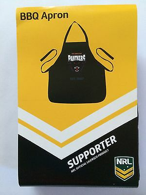 Penrith Panthers NRL Team Logo BBQ Apron