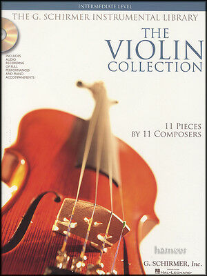 The Violin Collection Intermediate Sheet Music Book/2CDs