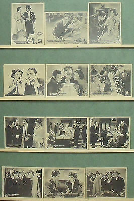 RB68 AFTER THE THIN MAN WILLIAM POWELL MYRNA LOY ASTA Lobby Set Spain