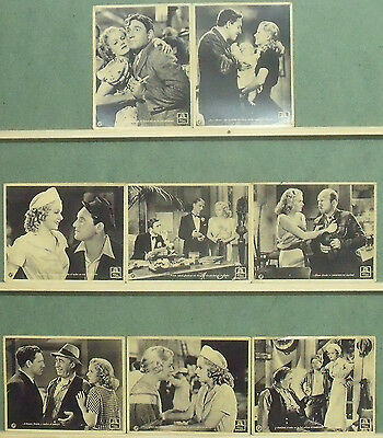 RB70 RIFFRAFF JEAN HARLOW SPENCER TRACY Lobby Set Spain