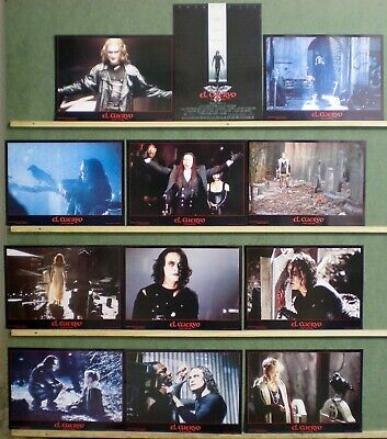 UC50 THE CROW BRANDON LEE GREAT Lobby Set Spain
