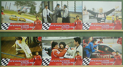 RQ25 THUNDERBOLT JACKIE CHAN CAR RACING Lobby Set Spain