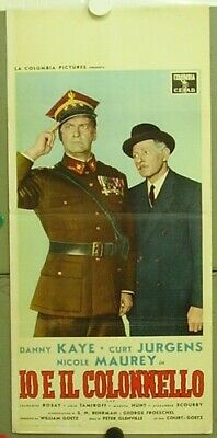 tb20 ME AND THE COLONEL DANNY KAYE CURT JURGENS orig IT