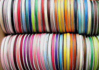 "10y 25y 38mm 1 1/2"" 50mm 2"" 75mm 3"" Mixed Premium Heavy Grosgrain Ribbon Eco"