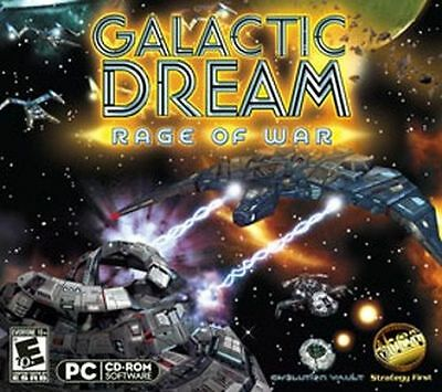 GALACTIC DREAM RAGE OF WAR New for PC Vista XP Win 7 SEALED