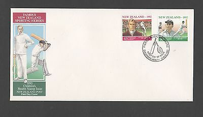 New Zealand 1992 FDC Childrens Health stamp issue set stamps