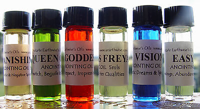 1 x SHOWERS OF GOLD ANOINTING OIL 5ml Wicca Witch Pagan Spell PROSPERITY