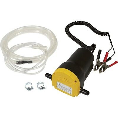 Fuel Oil Diesel Extractor Transfer Pump 12V 12 Volt Siphon Portable w/ Hose NEW