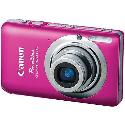 Canon PowerShot ELPH 100 HS / IXUS 115 HS 12.1 MP Digital Camera - Pink