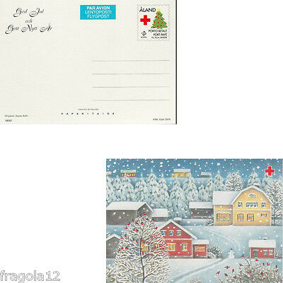Aland 1994 - Natale - Christmas - Cartolina Postale (2) - Unused