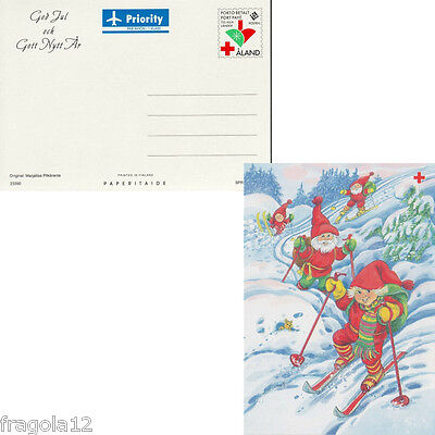 Aland 1996 - Natale - Christmas - Cartolina Postale (1) - Unused