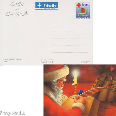 Aland 1999 - Natale - Christmas - Cartolina Postale (1) - Unused