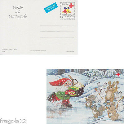 Aland 1993 - Natale - Christmas - Cartolina Postale (1) - Unused