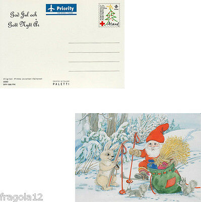 Aland 1998 - Natale - Christmas - Cartolina Postale (1) - Unused