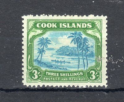 Cook Islands 1938 3s MH