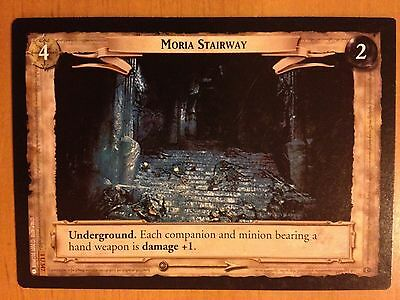 Lord of the Rings CCG Fellowship 1U347 Moria Stairway LOTR TCG
