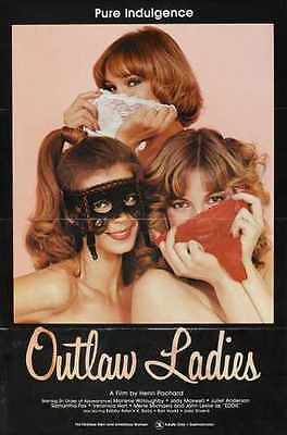 Outlaw Ladies Poster 01 Metal Sign A4 12x8 Aluminium