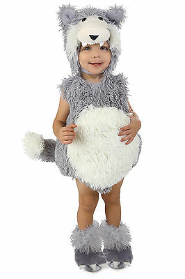 NEW Wolf Costume Beau Vintage by Princess Paradise Baby 6 9 12 18 24 months 2T 2