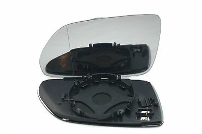 Skoda Octavia 2005-2009  Wing Mirror Glass Aspheric Heated Left