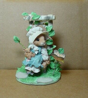 Enesco Mouse Tales Priscilla Hillman Figurine ALWAYS IN MY HEART AND MIND