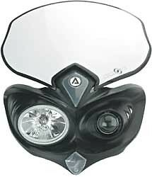 Acerbis Cyclops Universal Street/Offroad Motorcycle Headlight | 2042690001 WP