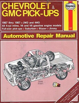 1967-87 Chevy & GMC Pick-ups  2WD & 4WD - all 6 cyl in-line; V6 & V8; Suburban &