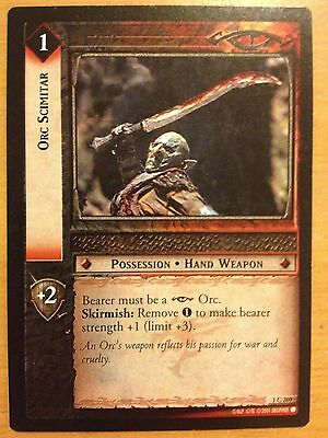 Lord of the Rings CCG Fellowship 1U262 Orc Assassin LOTR TCG