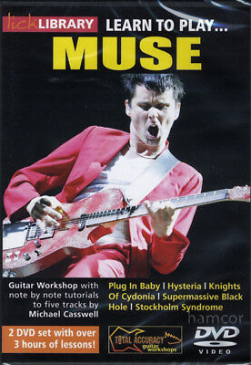 Learn to Play Muse Lick Library Guitar Tuition DVD Set