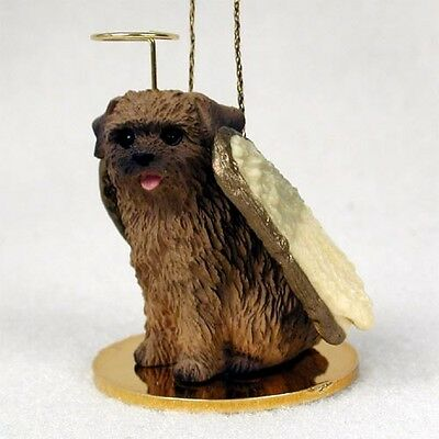 NORFOLK TERRIER Dog ANGEL Tiny One Ornament Figurine Statue