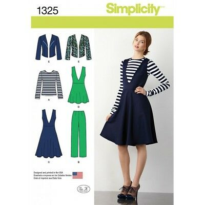 Misses Pants Tunic Jacket and Top Simplicity Sewing Patterns 1325**