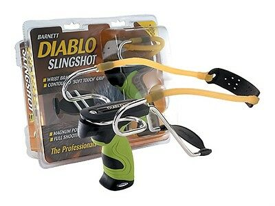 The Barnett Diablo Slingshot With Detachable Wrist Strap - Hunting Bushcraft
