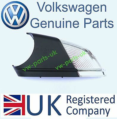 GENUINE VW Wing Mirror Indicator Turn Signal Passenger Side Left Polo Octavia