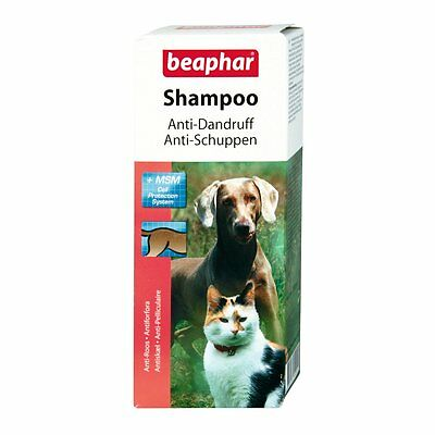 Beaphar - ANTI-PELLICULAIRE Shampooing - 200 ml - CHIENS CHAT schuppenshampoo