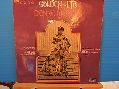 Dionne Warwick - Golden Hits -free uk post