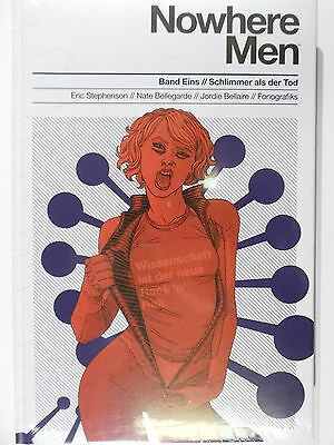 NOWHERE MEN # 1  Schlimmer als der Tod ( CROSSCULT, Hardcover ) NEU