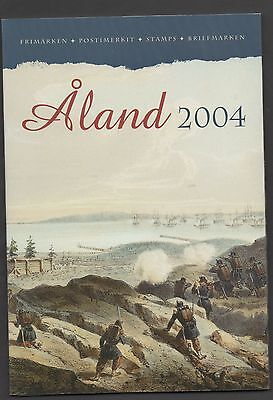 Aland 2004 Post Office Yearpack unmounted mint Stamps complete superb