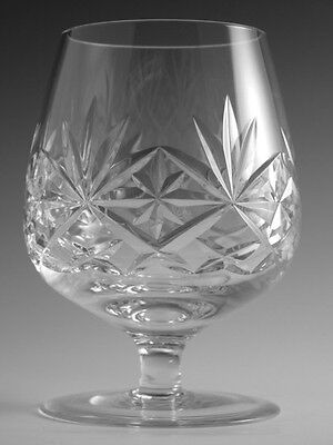 "EDINBURGH Crystal - DUET Cut - Brandy Glass / Glasses - 5"" (2nd)"