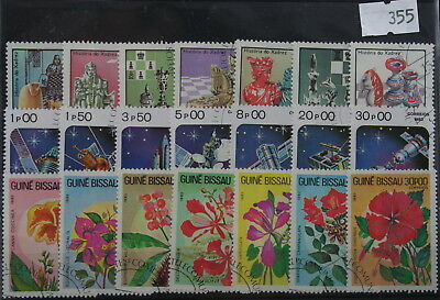 Guinea-Bissau 5 sets, all different (355)